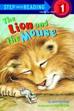 Bookjacket for The lion and the mouse
