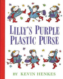Bookjacket for  Lilly's Purple Plastic Purse