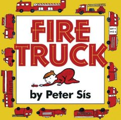 Bookjacket for  Fire Truck