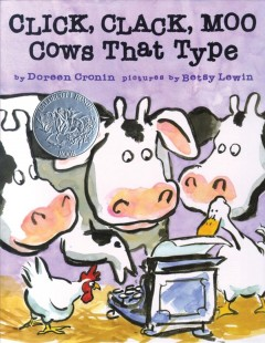 Bookjacket for  Click, Clack, Moo : Cows That Type