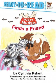 Bookjacket for  Puppy Mudge finds a friend