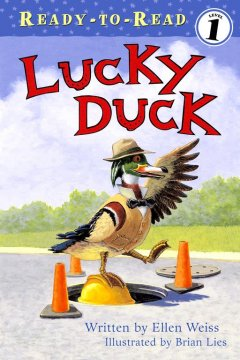 Bookjacket for  Lucky duck