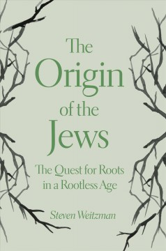 Bookjacket for The origin of the Jews