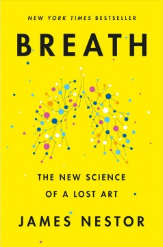 Bookjacket for  Breath