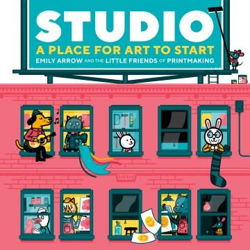 Bookjacket for  Studio