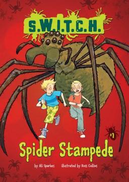 Bookjacket for  Spider Stampede