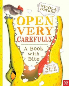 Bookjacket for  Open very carefully