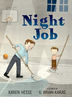 Bookjacket for  Night job
