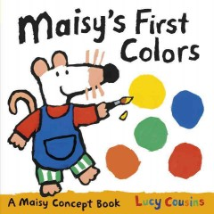 Bookjacket for  Maisy's First Colors