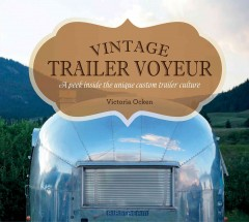bookjacket for Vintage trailer voyeur