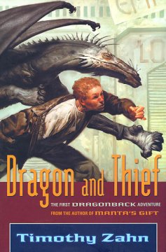 Bookjacket for  Dragon and Thief
