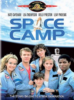 Bookjacket for  SpaceCamp