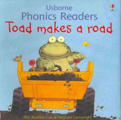 Bookjacket for  Toad makes a road