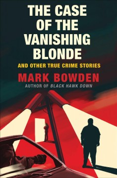 Bookjacket for The case of the vanishing blonde