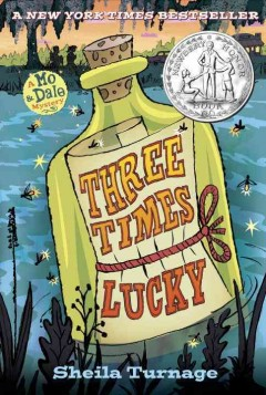 Bookjacket for  Three Times Lucky