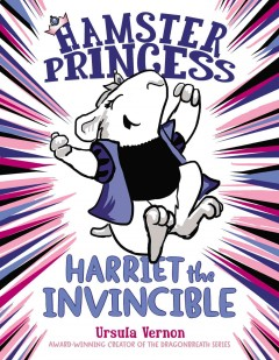 Bookjacket for  Harriet the Invincible