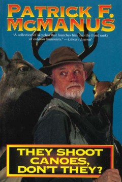 bookjacket for They shoot canoes, don't they ?