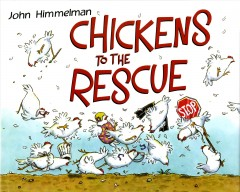 Bookjacket for  Chickens to the Rescue