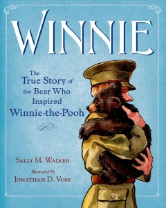 Bookjacket for  Winnie : the true story of the bear who inspired Winnie-the-Pooh