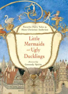 Bookjacket for  Little mermaids and Ugly ducklings