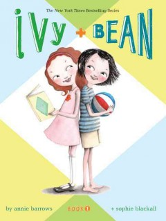 Bookjacket for  Ivy + Bean