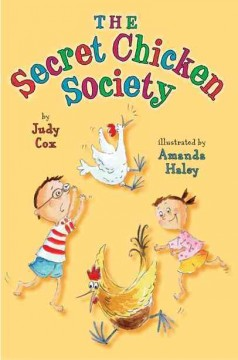 Bookjacket for The Secret Chicken Society