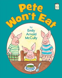 Bookjacket for  Pete won't eat