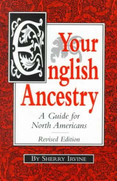 Bookjacket for  Your English ancestry : a guide for North Americans