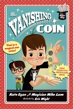 Bookjacket for The Vanishing Coin.