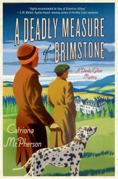 Bookjacket for A deadly measure of brimstone