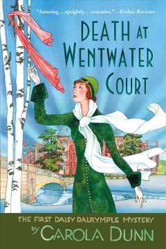 Bookjacket for  Death at Wentwater Court
