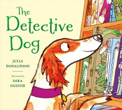 Bookjacket for The Detective dog