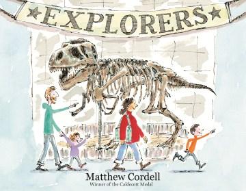 Bookjacket for  Explorers