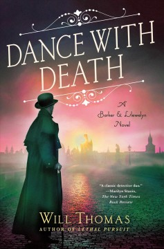 Bookjacket for  Dance with death