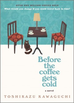 Bookjacket for  Before the coffee gets cold