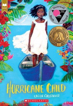 Bookjacket for  Hurricane Child