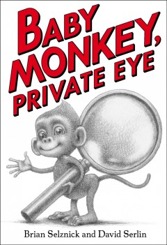 Bookjacket for  Baby Monkey, private eye