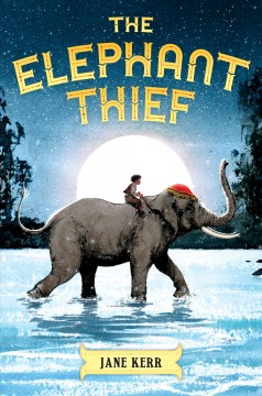 Bookjacket for The Elephant thief