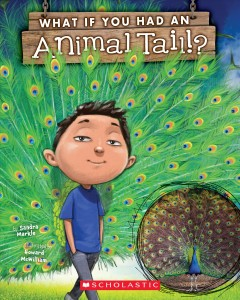 Bookjacket for  What If You Had an Animal Tail?