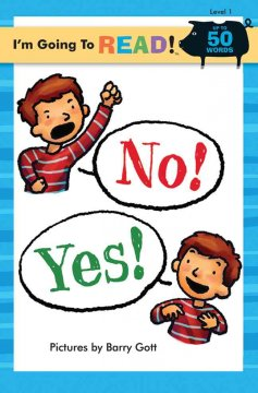 Bookjacket for  No! Yes!