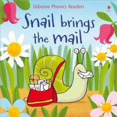 Bookjacket for  Snail brings the mail
