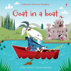 Bookjacket for  Goat in a boat