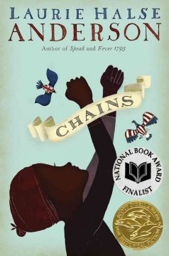 Bookjacket for  Chains