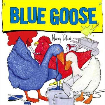 Bookjacket for  Blue Goose.