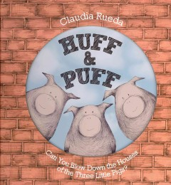 Bookjacket for  Huff & puff