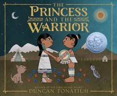Bookjacket for The princess and the warrior