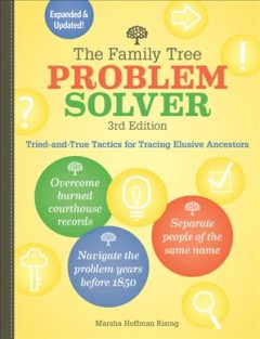 Bookjacket for The family tree problem solver