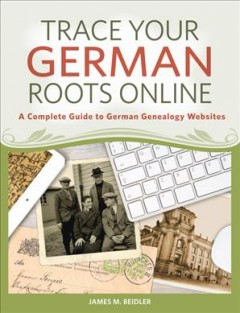 Bookjacket for  Trace your German roots online