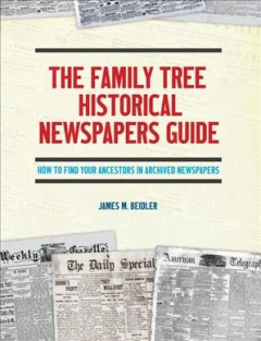 Bookjacket for The Family Tree historical newspapers guide