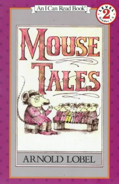 Bookjacket for  Mouse Tales